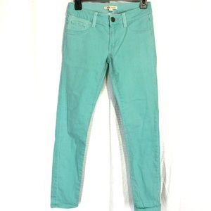 CABI 322 Thin Mint Jegging Skinny Jeans ~sz 0 x 30